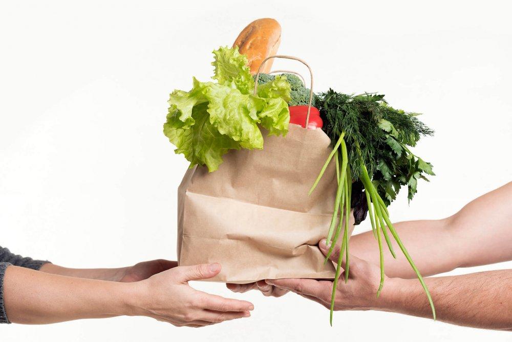 Servizio di consegna a domicilio di generi alimentari